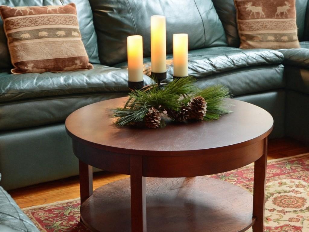 Unique Coffee Table Christmas Centerpieces