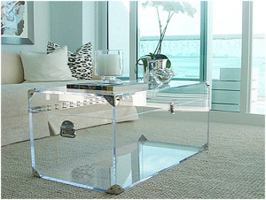 Photo Gallery Of The Small Acrylic Coffee Table