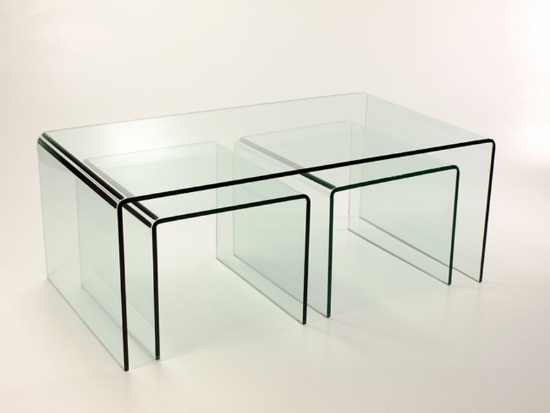 Acrylic Coffee Table With Matching Stools Coffee Tables