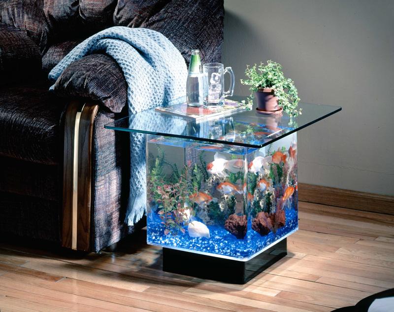 Aquarium Small Coffee Table