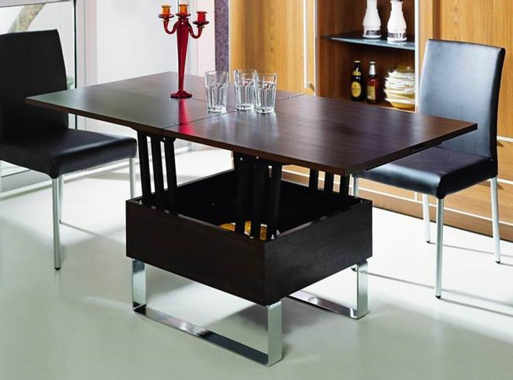 Black Convertible Coffee Table
