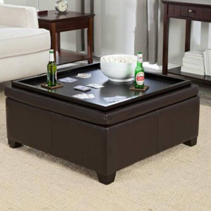Coffee Table with Solid Seating