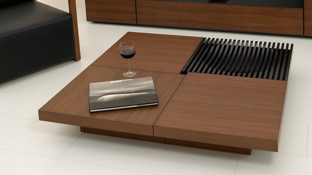 Coffee Table with Storage Compiled