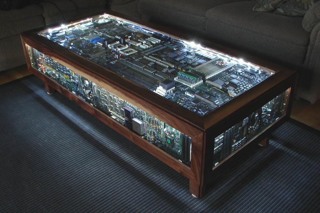 Computer Engine Coffee Table