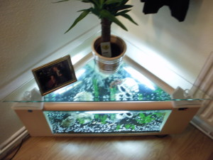 Oval Fish Tank Coffee Table Coffee Tables