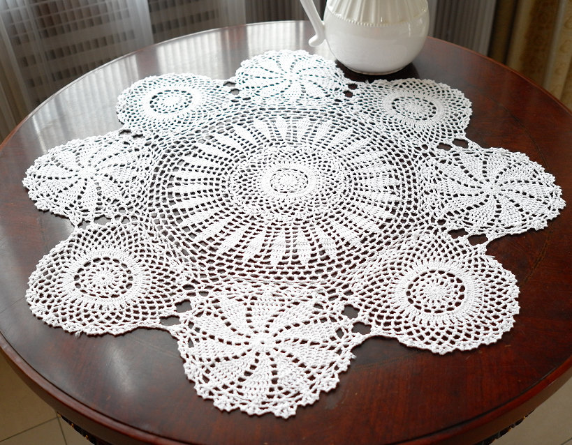 Cover for Round Coffee Table
