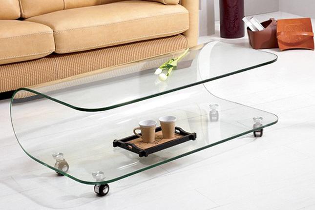 Elegant Ikea Glass Coffee Table