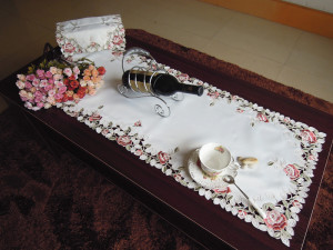 Photo Gallery Of The Tablecloth Coffee Table Cover