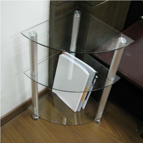 Glass Coner Table
