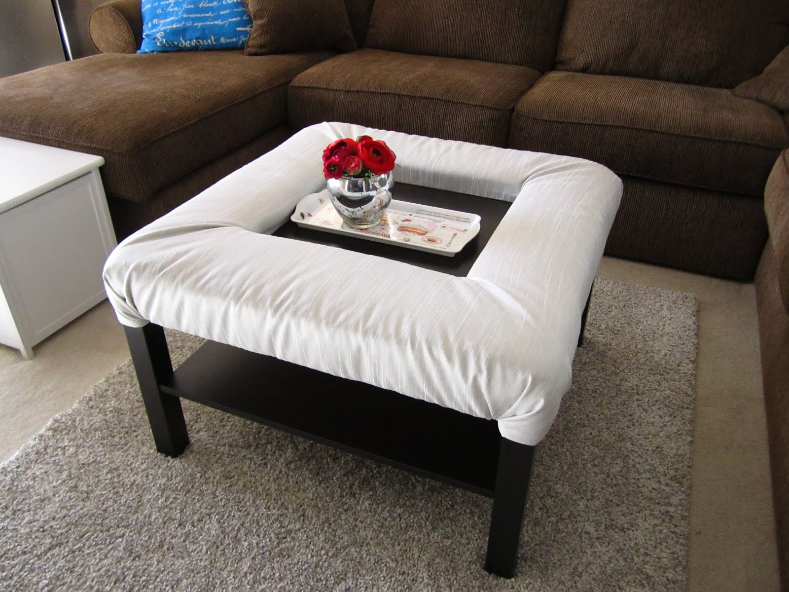 Ikea Lack Coffee Table with Footrest