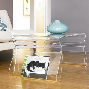 Interesting Form Acrylic Coffee Table