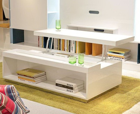 Lift White Coffee Table
