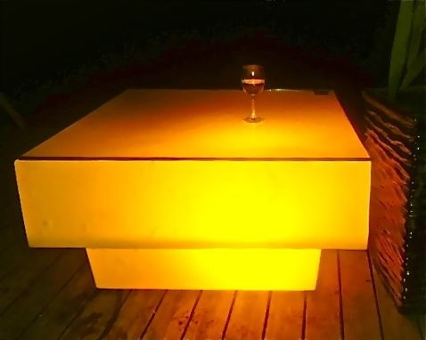 Modern Led Coffee Table