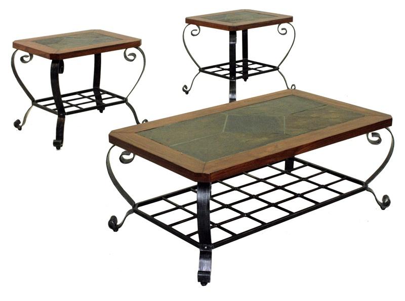 Slate Coffee Table Set