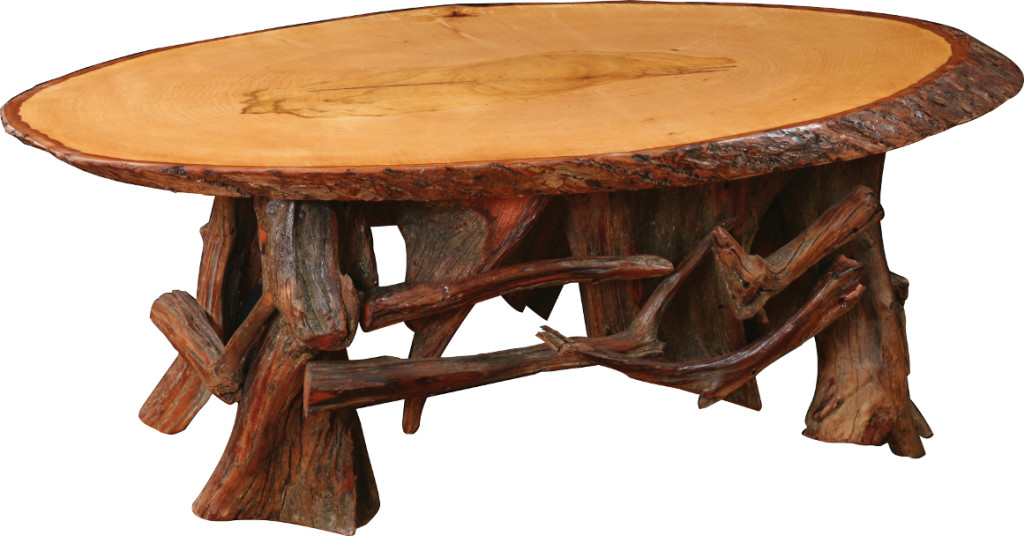 Stylized Rustic End Table