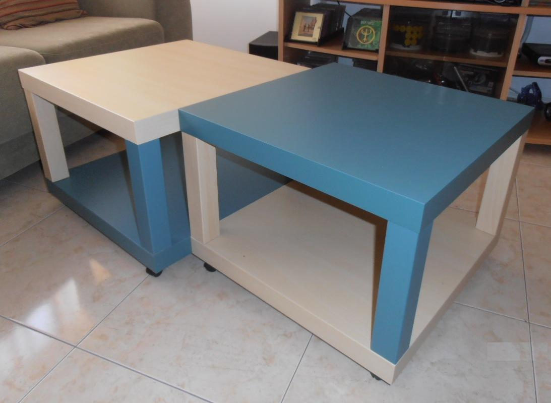 Twin Ikea Lack Coffee Tables