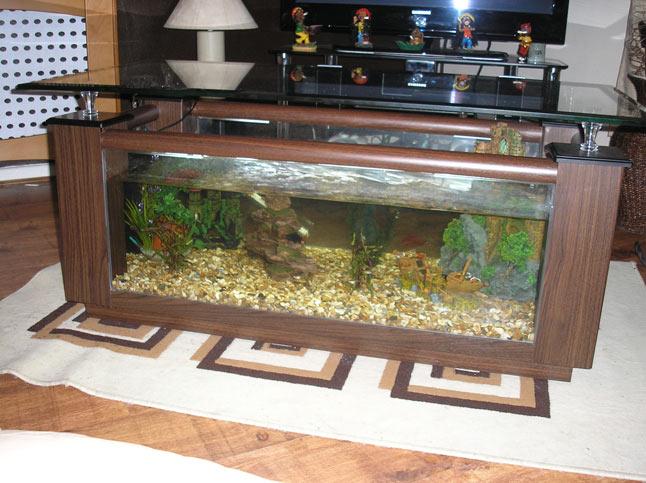 Wood Fish Tank Coffee Table Coffee Tables - Fish tank coffee table cheap