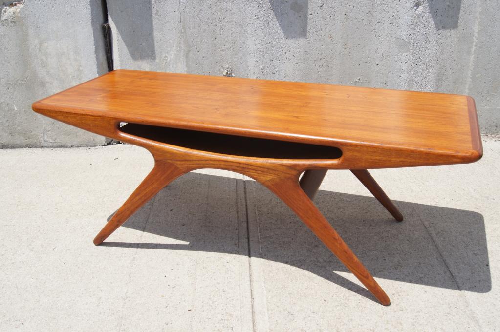 Antique Teak Coffee Table