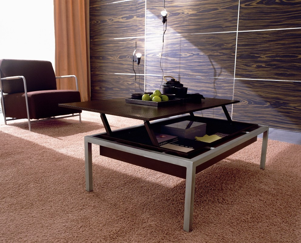 Coffee Table with Folding Top