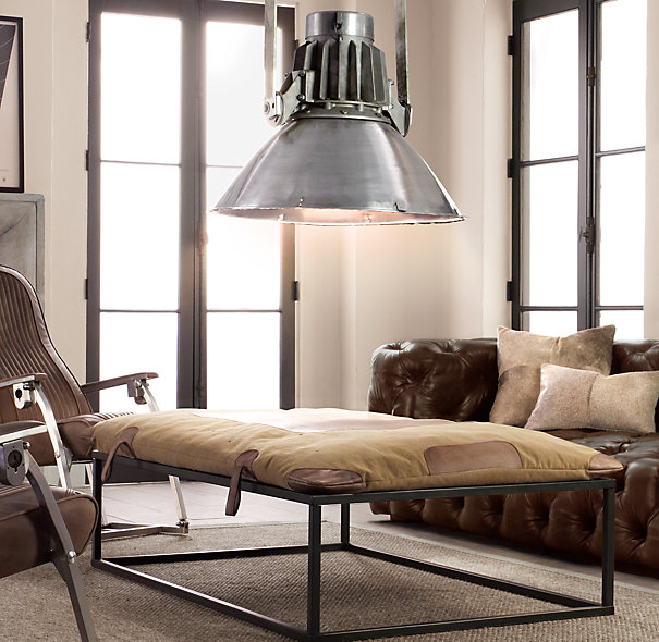 restoration hardware bluestone parsons coffee table shopstyle