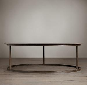 Restoration Hardware Mercer Round Coffee Table