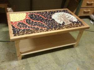 High Quality Photo Gallery Of The Mosaic Coffee Table Special Form