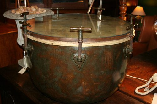 Copper Kettle Coffee Table