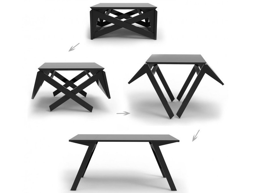 Ingenious Fold Out Coffee Table