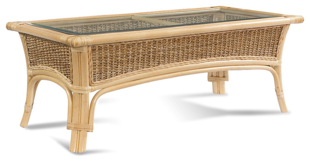 Rattan Coffee Table Classic Style