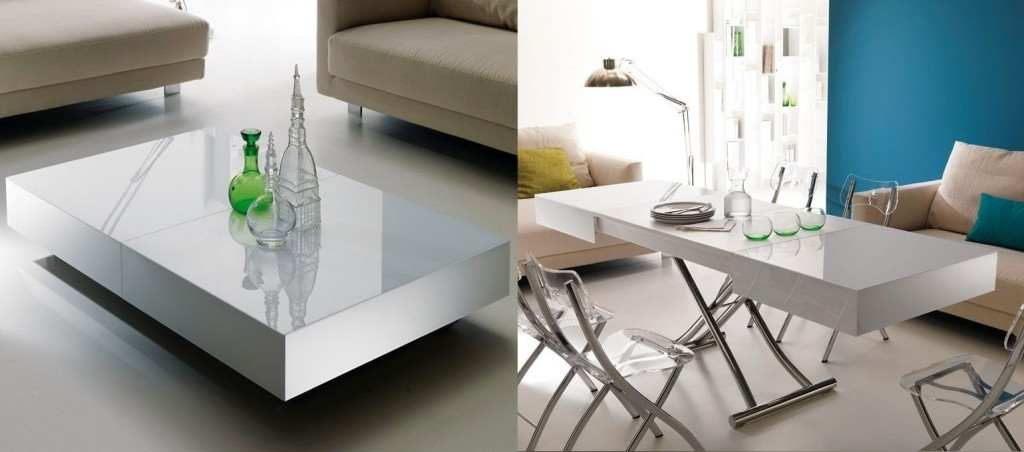 Space Saving Fold Out Coffee Table