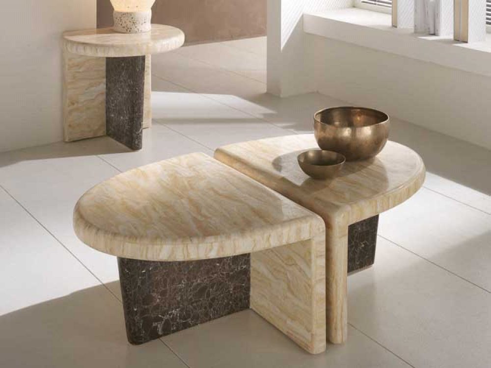 Stone Coffee Table Interesting Form