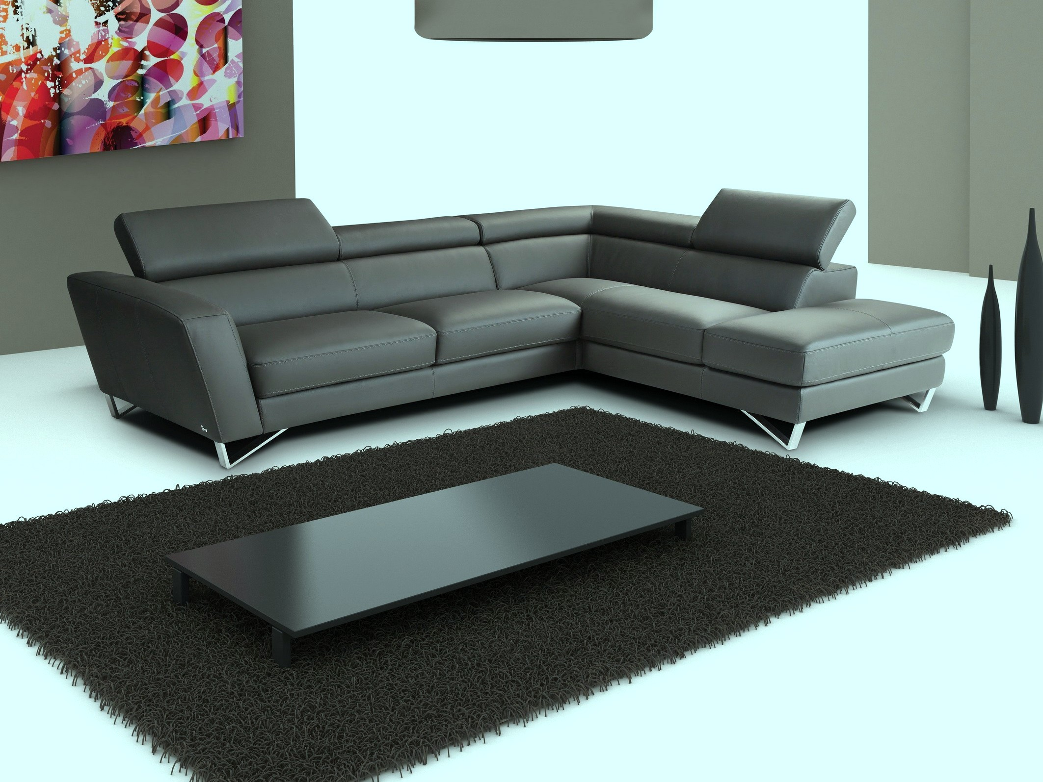 Super Low Black Coffee Table Coffee Tables - Super low coffee table