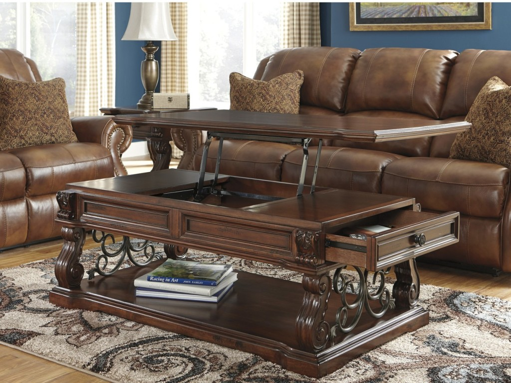 Traditional Lift Top Coffee Table