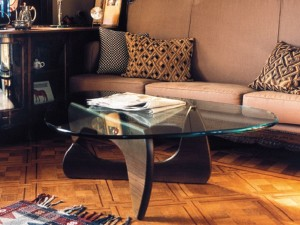 Photo Gallery Of The Elegant White Noguchi Coffee Table