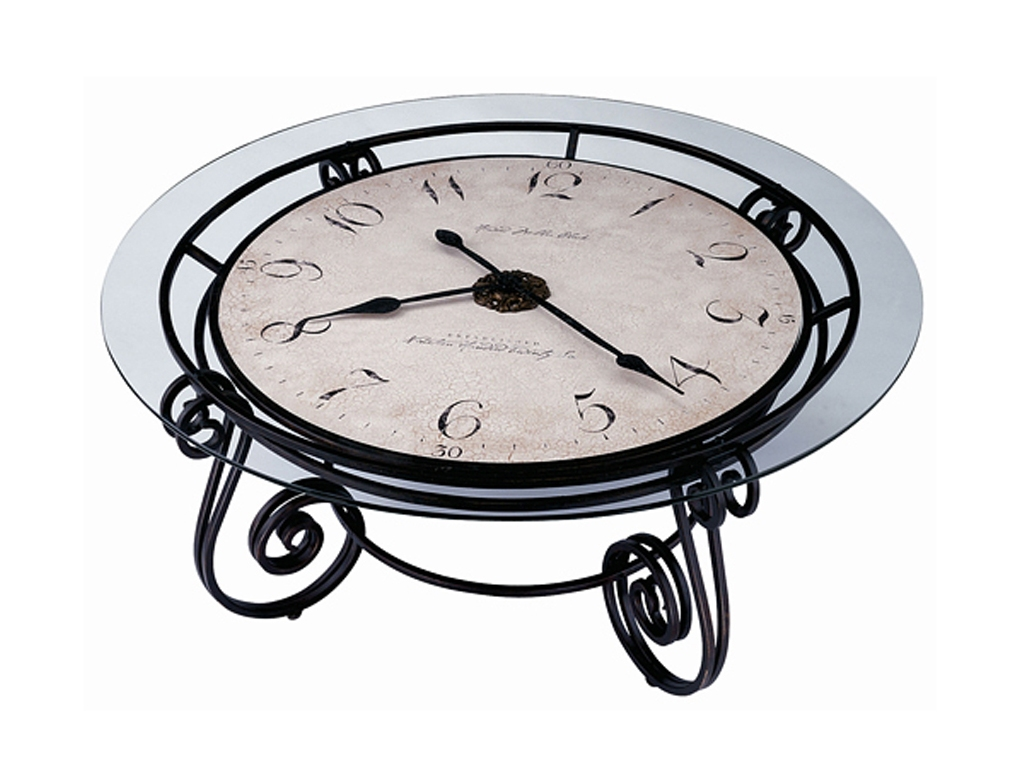 Unique Clock Coffee Table
