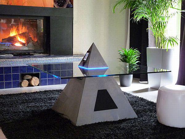Futuristic Unusual Coffee Table