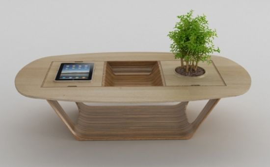 Multifunctional Unusual Coffee Table