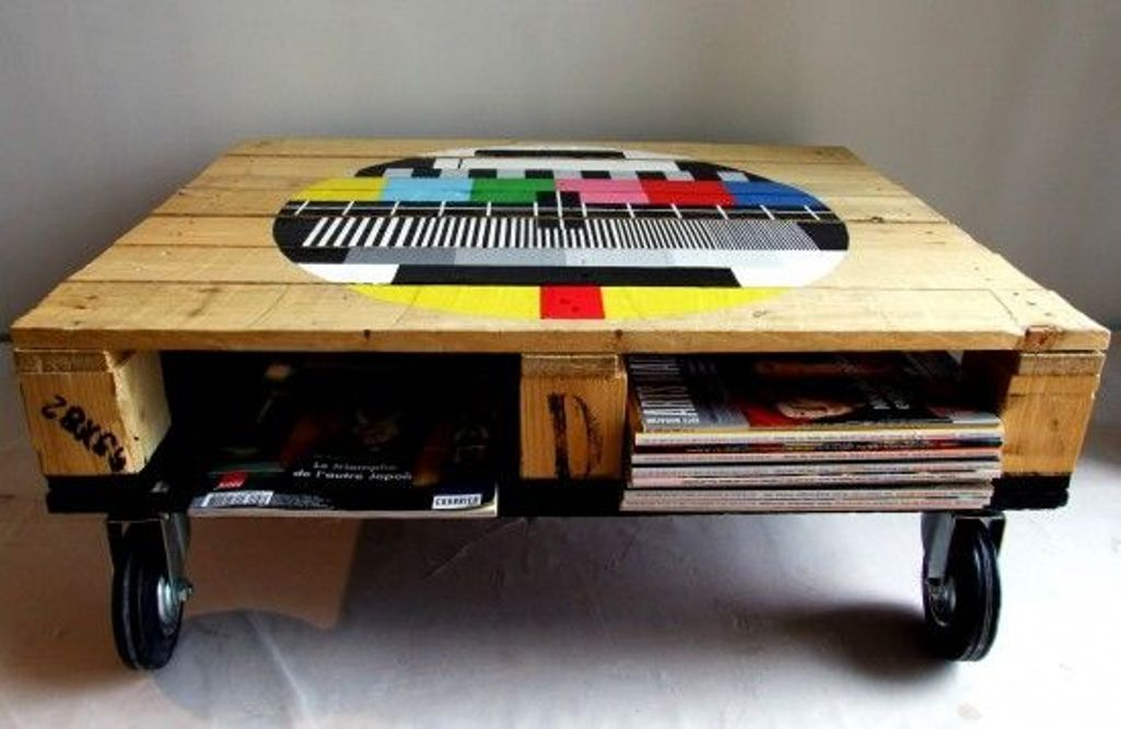 Unusual Pallet Coffee Table Coffee Tables