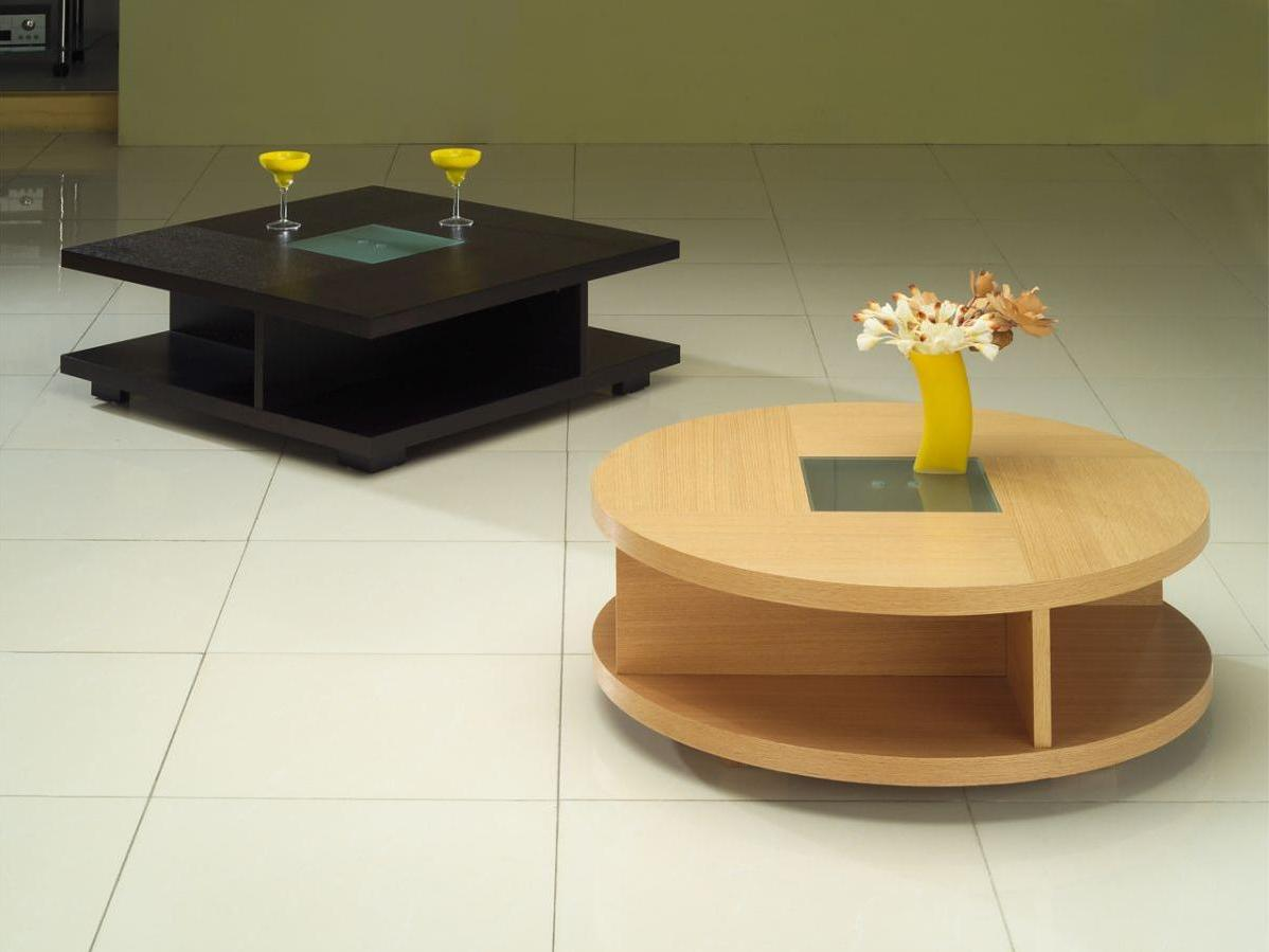 Coffee Tables with Capacious Shelves for Small Spaces