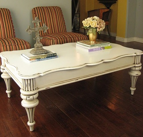Delicate French Country Coffee Table