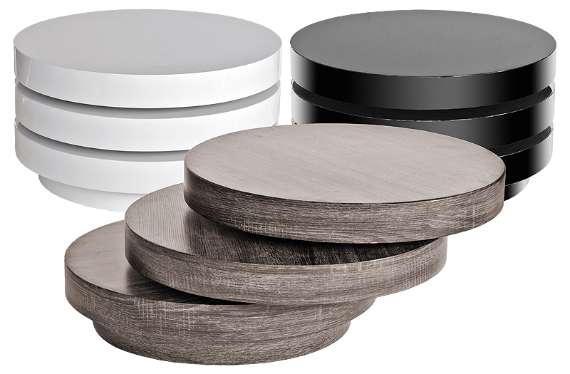 Futuristic Circular Coffee Tables