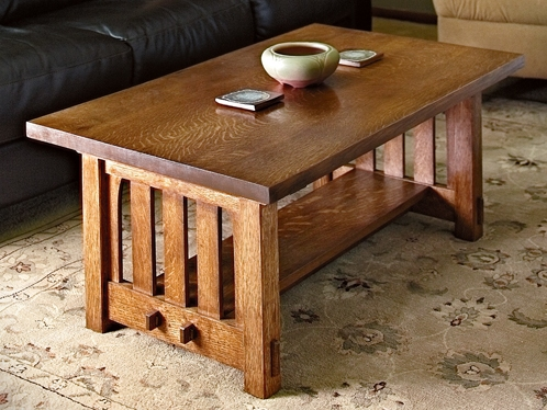 Tiny Mission Coffee Table