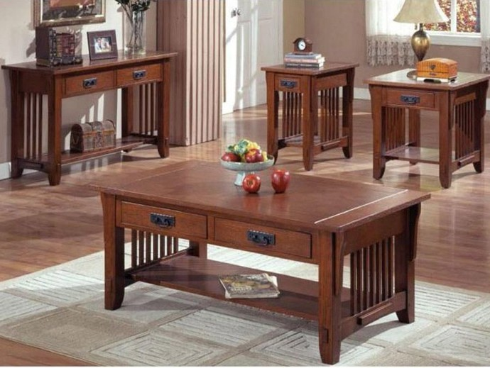 Woodwork Mission Coffee Table