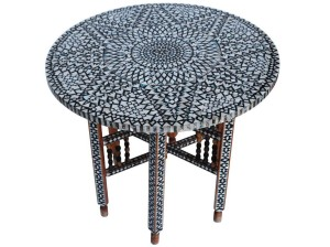 Round Moroccan Coffee Table Coffee Tables