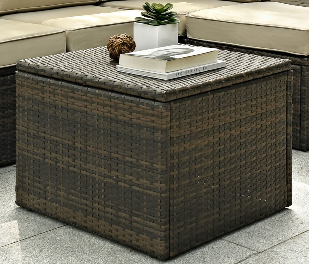 Chest Patio Coffee Table