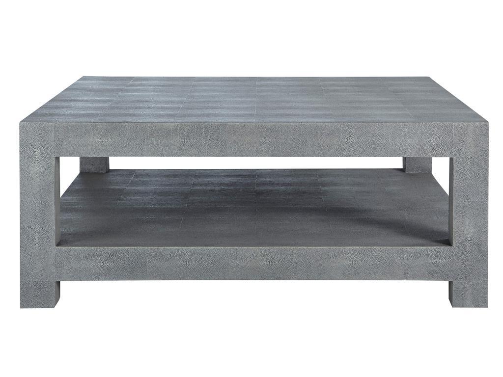Massive Grey Coffee Table