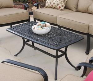 Metal Patio Coffee Table