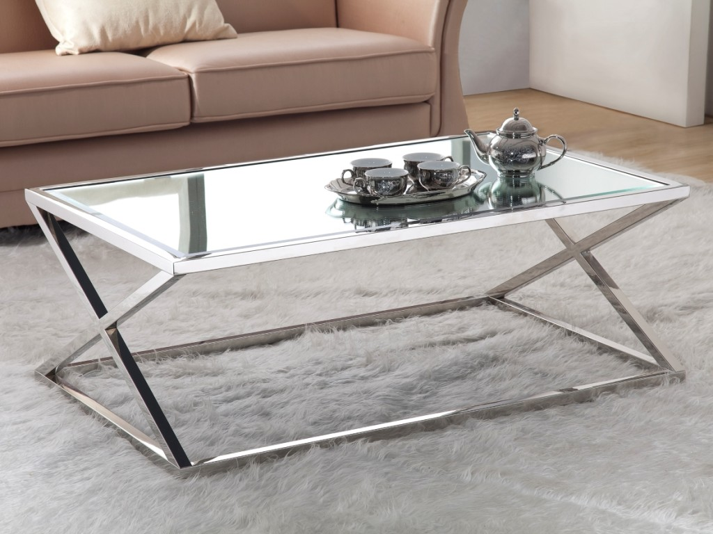 Modern Steel Coffee Table