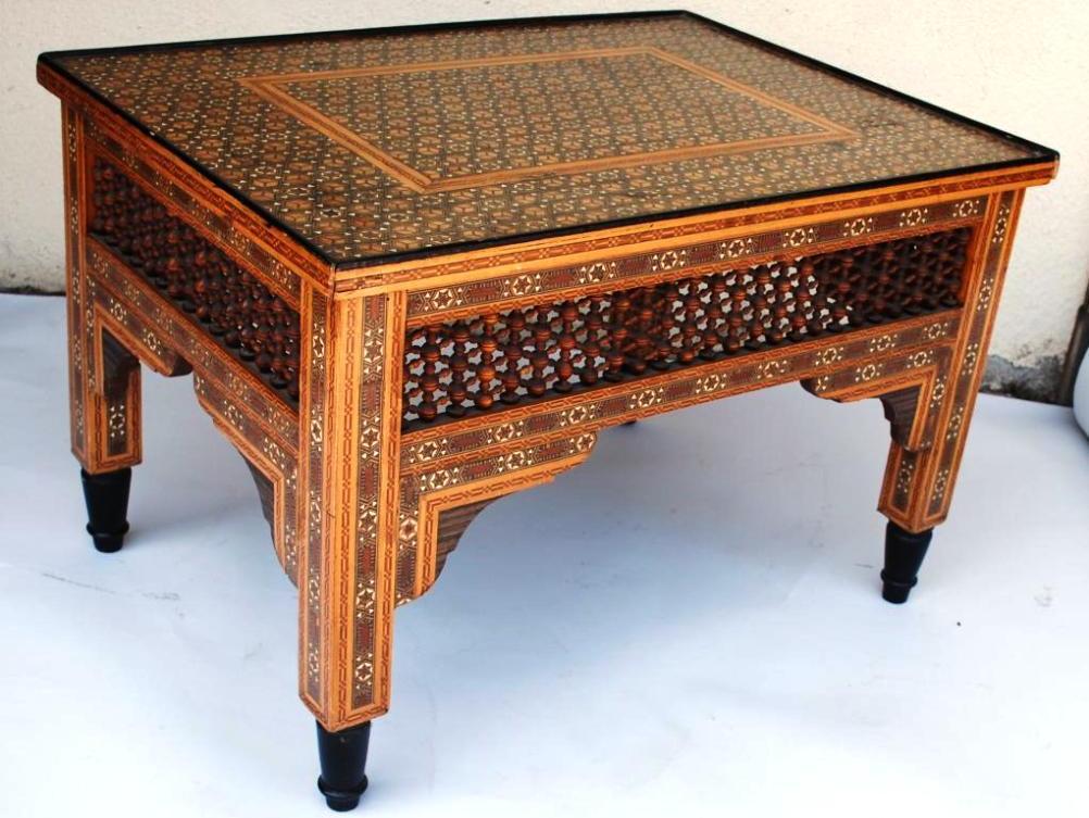 Vintage Moroccan Coffee Table