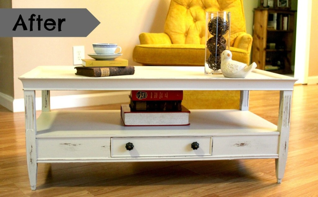 How To Make Shabby Chic Coffee Table Yourself